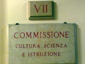 commissione cultura camera senato