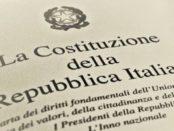 incostituzionale decreto cura italia